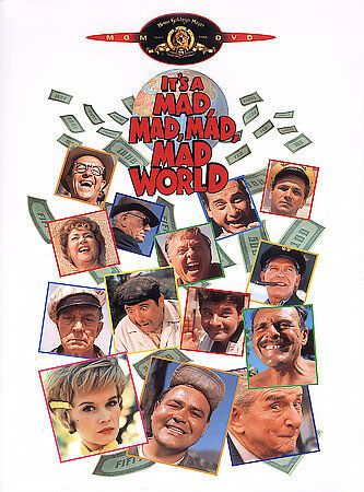 Its A Mad, Mad, Mad, Mad World DVD (Letterboxed Edition with Special Features)