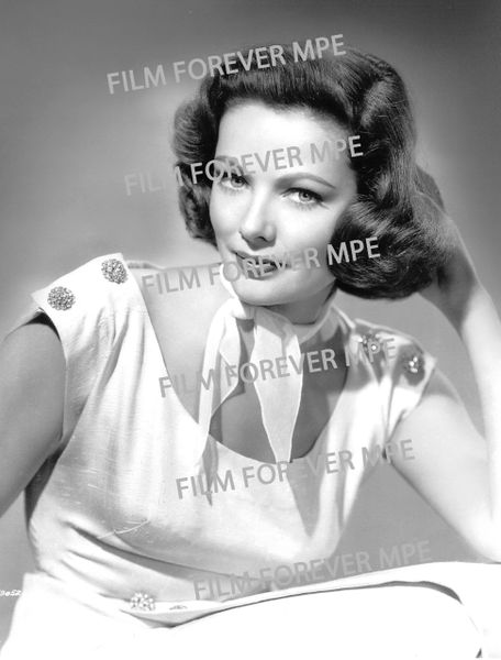 GENE TIERNEY - HOLLYWOOD LEGENDS SERIES (NOVEMBER 2020 SELECTION) U.S. ORDERS ONLY!