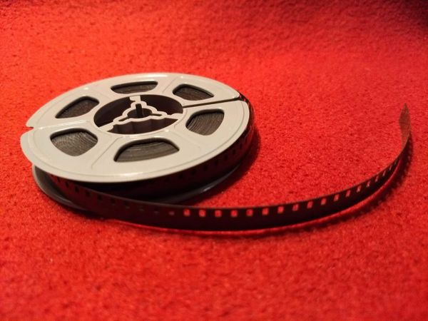 Kodak 'Classic' Black and White Acetate Movie Leader - Regular 8mm (Discontinued - Limited Supply)