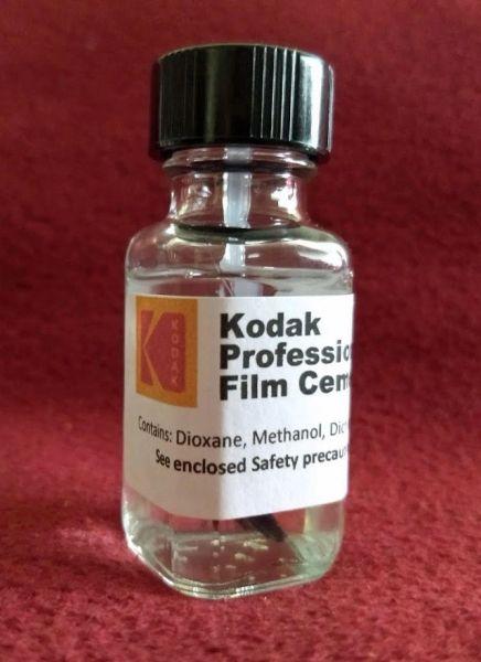 Kodak Professional Grade Film Cement (Re-Packaged 'FRESH' by Film Forever)