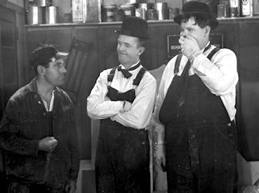 Busy Bodies starring Laurel and Hardy (16mm Sound Print) - NEW!