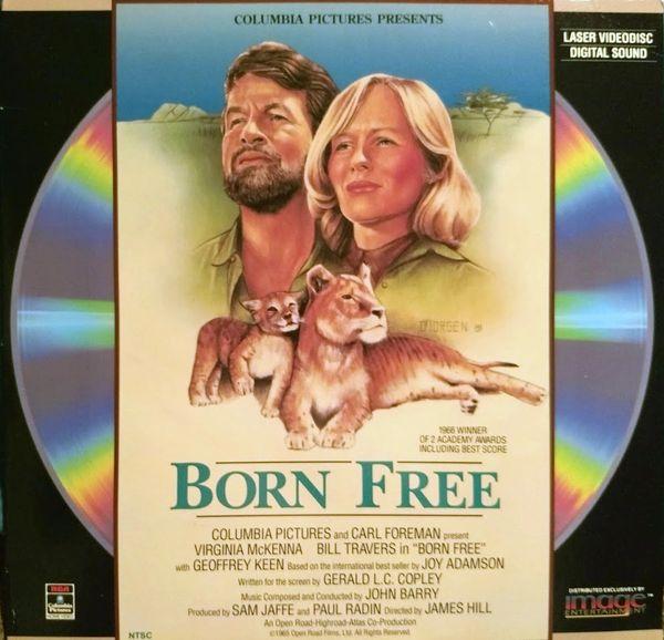 Born Free (Full Frame Version Laserdisc)