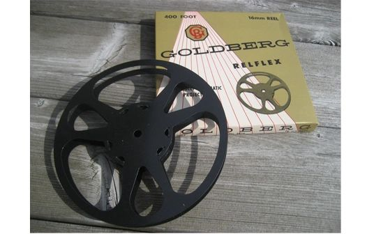 Goldberg 16mm 400 ft. Metal Movie Reel