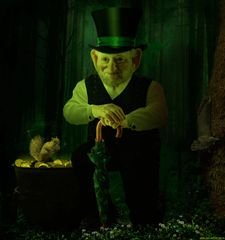 Essence of Leprechaun~Money Wealth Luck Success & More! - Spirit Keeping Alternative
