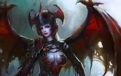 Baba Yaga Sorceress Demon Hybrid - Keeper Of God Daemons, Commander Angels and Royal Djinn