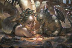 Baby Gargoyle - Adorable, Active and Magickal Guardians