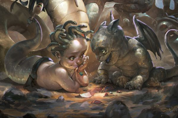Baby Gargoyle - Adorable, Active and Magickal Guardians