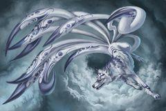 9 Tail Kitsune - Proven Magickal Companion, Protector Who Brings Good Luck!