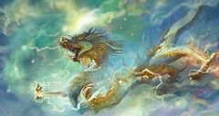 9,580 Year Old Eastern Guardian Dragon - Quick Banishment Of Evil and Affectionate Companion