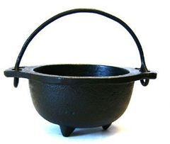 Full Moon Spell Cast Problem Solving Cauldron! Solves Problems Big and Small!