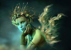 Cleopatra's Personal Princess Swan Maiden - OOAK