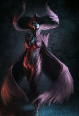 Bound Demoness Harpy Hybrid - Most Power Familiar - Makes Spells and Spirits More Powerful