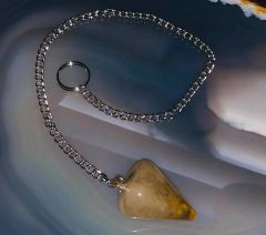 SALE Spell Cast Pendulum For Spirit and Entity Communication - Protects From Evil Safely Opens Inner Eye - DAILY DEAL