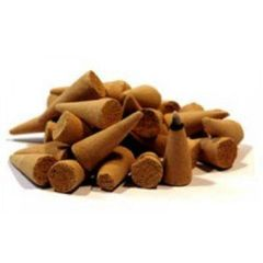 13 Magickal Sandalwood Incense Cones - Spell Cast For Offerings, Boosting and Protection 13 Cones - Last Batch This Sale!