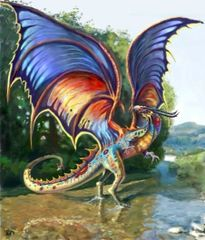 Young Rainbow Dragon - Brings Winning Luck Love and Aura Cleansing - Males and Females!