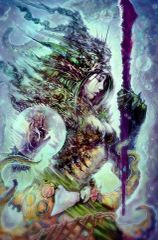 Stunning Merrow Queen - Rules All Merfolk - Love, Passion, Youth, and Psychic Gifts Await You