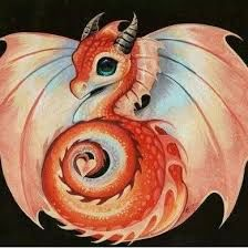 FREE WITH ORDER OVER 10.00 RED BABY DRAGON -Ship Applies - ONE Gift Per Order