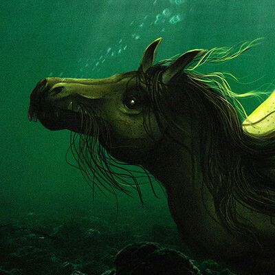 Level 7 Female Magickal Kelpie - Connects Keeper To Other Water Entities - Travel To Water Realms!