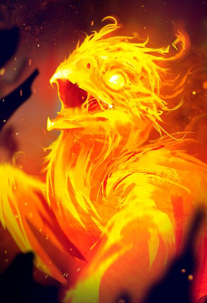 Phoenix Babies ~ Lovable Entities With Healing Magick