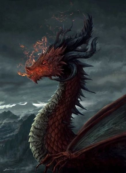 30,233 Year Old Imperial Arios Dragon - Black Red Hybrid - Wealth and Power! Commands Royals Of Black Red and Arios!
