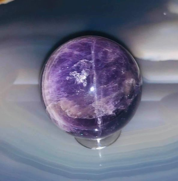 Dragon and Djinn Manifesting Offering Sphere - See Entities Manifest! Full Moon Creation! New Amethyst