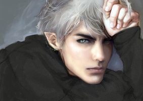 The Perfect, Kind, Devoted, and Magickally Gifted Male Arctic Elf - One Of Favorite Recent Conjurings~