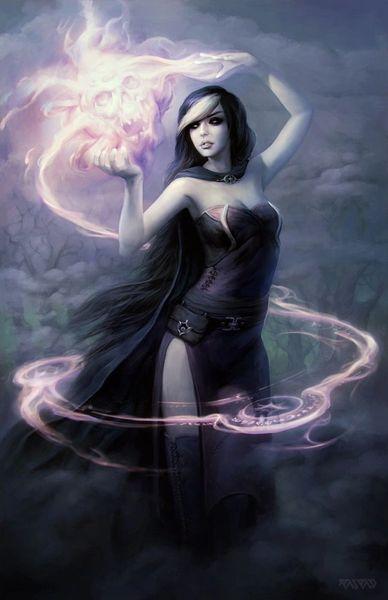 Female Daemon - Ancient Greek Spirit Worshiped Problem Solver