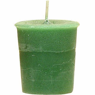 3X Cast Candle Brings Good Luck and Money - Perfect Blend! Unscented!