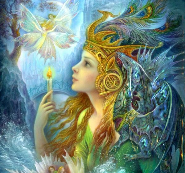 Faery of Intelligence Essence Spell ~ Improved Memory Sharper Wit & Intuition at Your Disposal