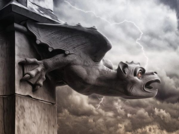 FREE Baby Gargoyle - Adorable, Active and Magickal Guardians! ONE GIFT PER ORDER Please Read