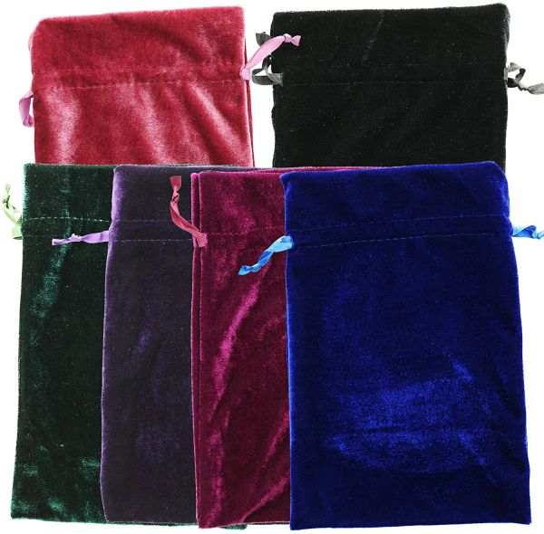 Large Size - God, Royal and Daemon Level Recharging, Bonding and Offering Deluxe Bag! Stunning 6x9 Velvet Bag