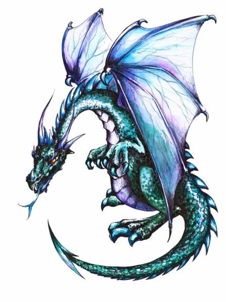 Baby Silver Dragon - Sweet Magickal Forces Of Nature - Brings Positive Blessings Of Happiness!