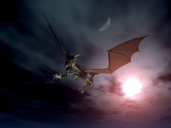 Baby Black Dragon - Dark Arts Magick Entity For Protection and Justice