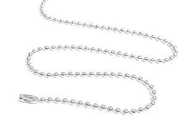 """30"""" Stainless Steel Recharging, Boosting and Cleansing Chain - Deluxe Full Moon Energy!"""