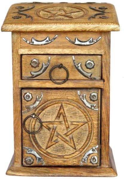 Boosting, Recharging, Bonding and Cleansing Box - All In One Spiritual Tool! 3 Magickal Compartments
