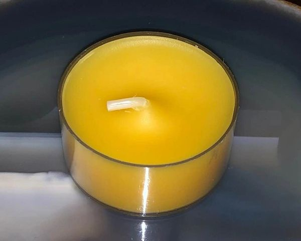 New Casting! Spell Cast Money, Good Luck and Happiness Candle - Small Tealight With Huge Magick! Potent Blend