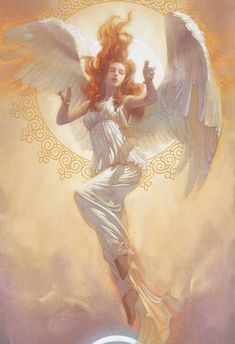 Commander Divine Angel From My Families Collection - Angel Of Psychic Abilities! Commands Warrior Archangels!