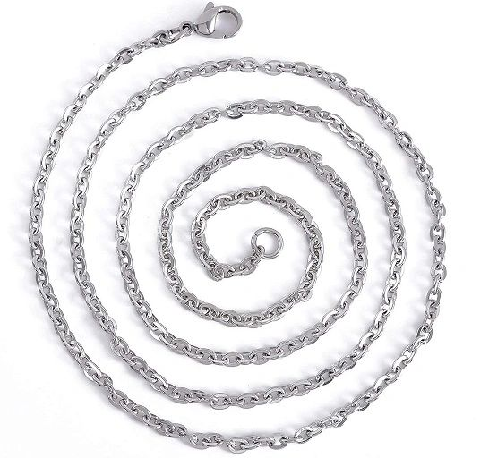 "26"" Stainless Steel Recharging, Boosting and Cleansing Chain - Deluxe Full Moon Energy!"