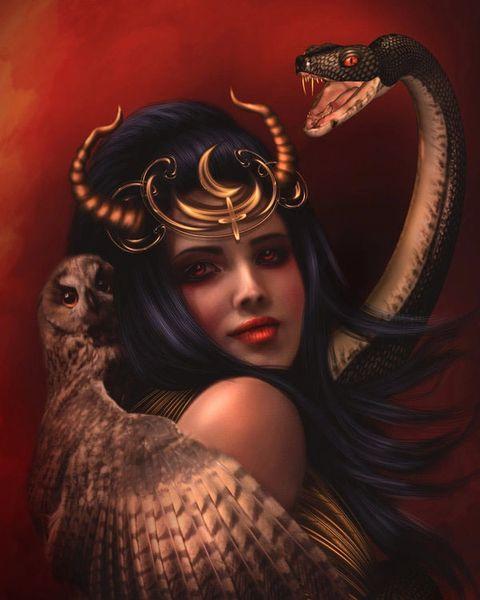 Female Shiqq Djinn Bound Demon Hybrid - Bi-Sexual Wish Granter Possesses Extraordinary Magick SALE!