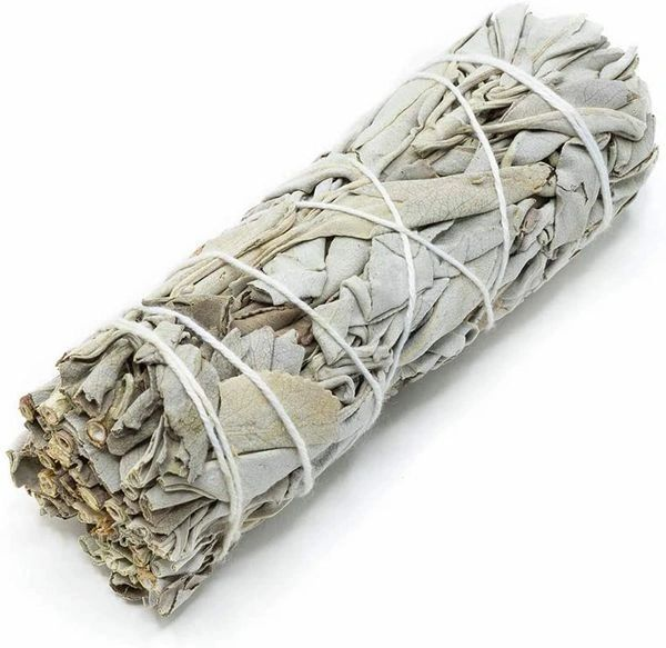 Spell Cast White Sage Smudging Stick - Enhanced For Quick Banishment and Remove Of Negative/Evil Energy!