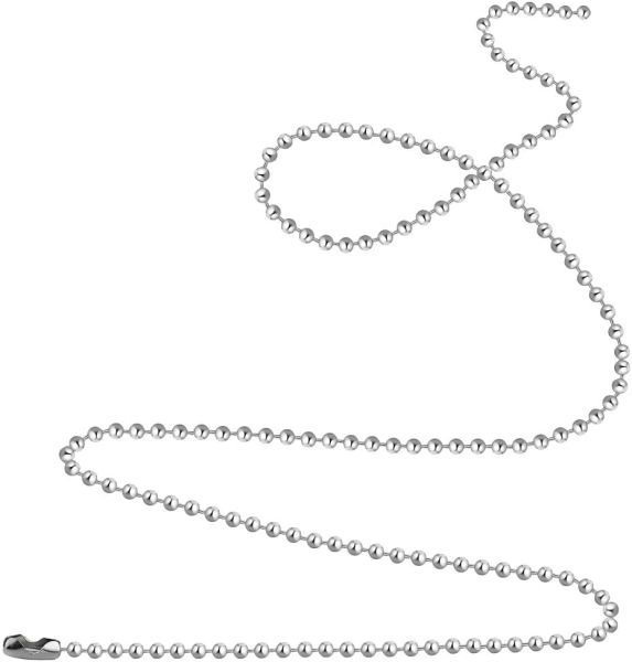 "30"" Stainless Steel Recharging, Boosting and Cleansing Chain - Deluxe Full Moon Energy!"