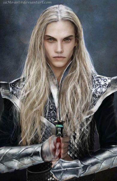 Prince Liosalfar Elf - Commands Over 400 Spell Caster - Entity Of Wealth!