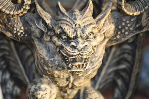 Male Gargoyle - Extremely Powerful Protector - Banishes All Evil