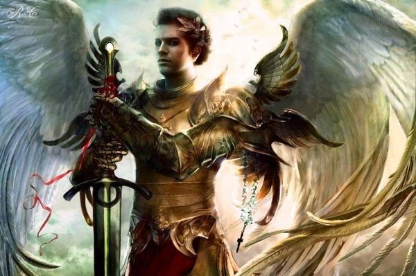 Warrior Archangel - Quickly Banishes All Evil Spirits and Entities - Quick and Complete Curse Removal Please Read