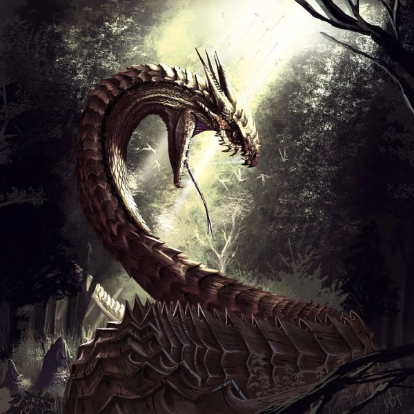 Grandma's Basilisk - Extremely Powerful Guardian Who Grants Wishes and Offers Minor Healing - Highly Experienced!