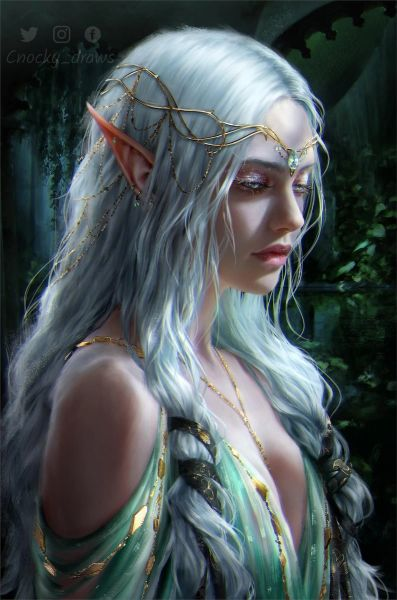 Newly Conjured Princess High Elf - Spell Caster! Brings Popularity, Passion, True Love, and Much More