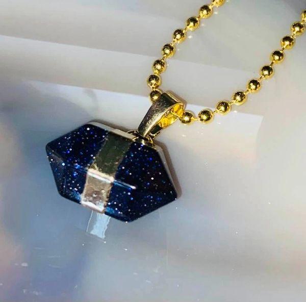 Essence of Raiju Spell ~ Pure Raiju Magick-Spirit Keeping Alternative for Psychic Blessings! Shimmering Goldstone Amulet!