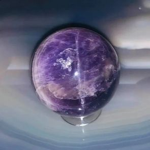 Dragon and Djinn Manifesting Offering Sphere - See Entities Manifest! Full Moon Creation! New Amethyst