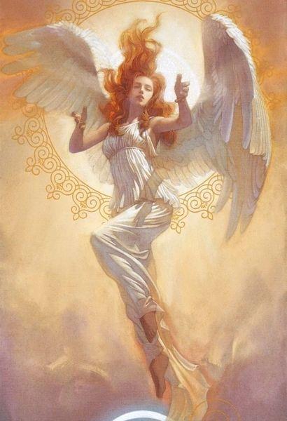 Stunning WA Angel Of Wealth and Success - Female Seraphim!