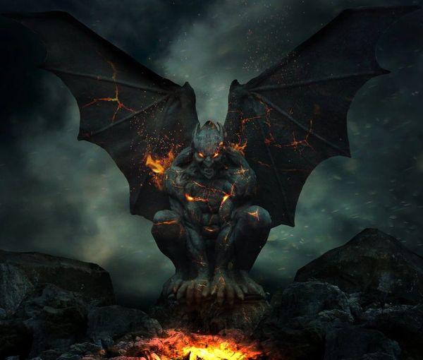 King Emomini Gargoyle - Commands Over 800, Including Standard Gargoyles - Magickal Song!
